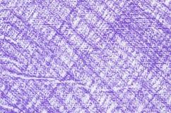 Textura violeta del fondo de los dibujos de creyón Stock de ilustración