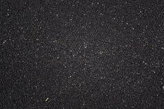 Textura volcánica negra de la arena Foto de archivo libre de regalías