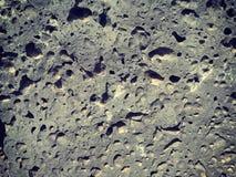 Textura vulcânica Fotografia de Stock