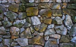 Textura wal de pedra Fotografia de Stock