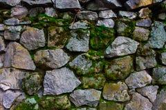 Textura wal de pedra Imagens de Stock