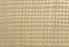 Textura - Weaving from straw Royalty Free Stock Image