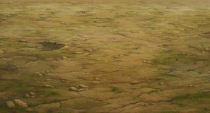 Textura y estructura del suelo Fotos de archivo libres de regalías