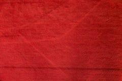 Textura y fondo de la alfombra roja Fotos de archivo libres de regalías