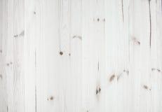 Textura y fondo de madera blancos ligeros del pino Foto de archivo