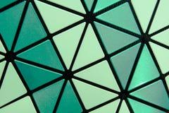 Textura y fondo del polímero del hexágono del primer Foto de archivo libre de regalías