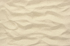 Textura y fondo finos de la arena Fotos de archivo libres de regalías