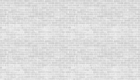 Textura y fondo grises y blancos de la pared de ladrillo del vintage Utilice a las FO Imagen de archivo