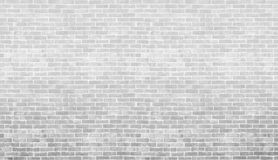 Textura y fondo grises y blancos de la pared de ladrillo del vintage Utilice a las FO Imagen de archivo libre de regalías
