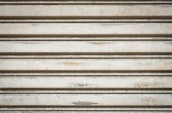 Textura y fondo plateados de metal de la pared Foto de archivo