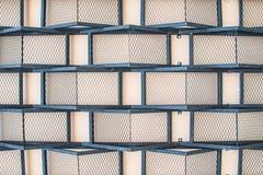 Textura y metal y muro de cemento del fondo Imágenes de archivo libres de regalías
