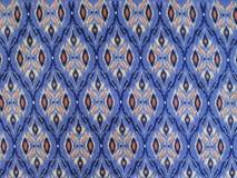 Textura y modelo de la tela del Asiático-estilo Imágenes de archivo libres de regalías
