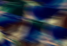 Blurred textural dark  background. Wavy effect. Textural background. Abstract illustration. Blue, yellow, brown colors pattern. Modern pixel art Royalty Free Stock Photography