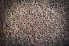 Textural background stone masonry Stock Images