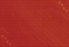 Textural retro red background Royalty Free Stock Photography