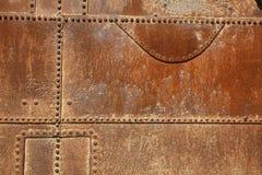 Texturas aherrumbradas del equipo en Humberstone Fotografía de archivo