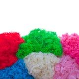 Texturas coloridas Imagens de Stock