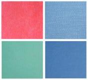 Texturas coloridas Fotografia de Stock