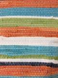 Texturas coloridas da roupa imagem de stock