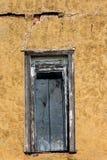 Texturas coloridas de uma porta abandonada em oklahoma ocidental Imagem de Stock