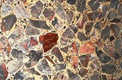 Texturas coloridas do teste padrão do fundo das pedras Fotos de Stock
