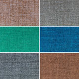 Texturas coloridos ajustadas Foto de Stock Royalty Free
