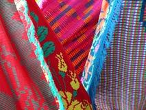 Texturas combinadas indias americanas Fotografía de archivo libre de regalías
