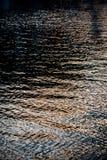 Texturas da água imagem de stock