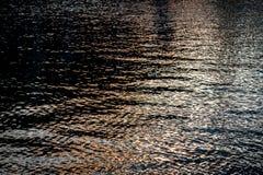 Texturas da água Fotografia de Stock