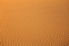 Texturas da areia Fotografia de Stock