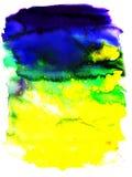 Texturas da cor de água Fotografia de Stock Royalty Free