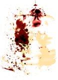 Texturas da cor de água Fotografia de Stock