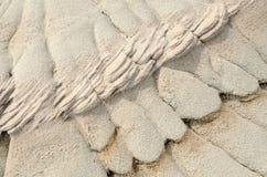 Texturas da erosão Fotografia de Stock Royalty Free