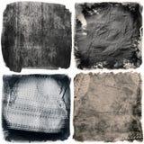 Texturas da obscuridade do Grunge Imagens de Stock Royalty Free