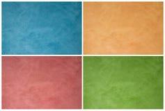 Texturas da parede Imagens de Stock