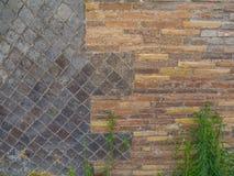 Texturas da parede foto de stock royalty free