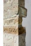 Texturas da parede de pedra Imagens de Stock