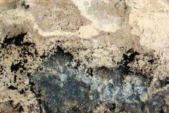 Texturas 3 da rocha fotografia de stock royalty free