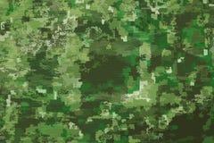 Texturas da tela da camuflagem, texturas Imagem de Stock Royalty Free