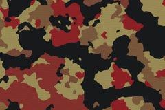 Texturas da tela da camuflagem, texturas Foto de Stock