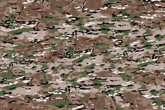 Texturas da tela da camuflagem, texturas Imagem de Stock