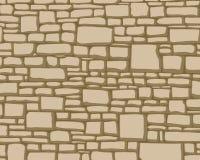 Texturas das pedras ilustração do vetor