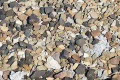 Texturas das pedras fotografia de stock