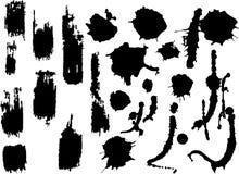 Texturas de Grunge Imagens de Stock Royalty Free