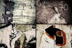 Texturas de Grunge Imagenes de archivo