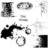 Texturas de Grunge Fotos de archivo