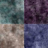 Texturas de Grunge fijadas Imagen de archivo libre de regalías
