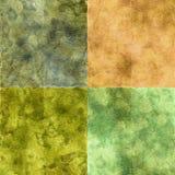 Texturas de Grunge fijadas Foto de archivo libre de regalías