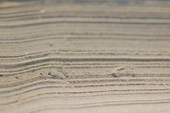 Texturas de la arena Foto de archivo libre de regalías