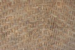 Texturas de la cesta de trilla tailandesa fotos de archivo libres de regalías